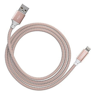 Ventev Charge/Sync Alloy Cable Lightning 4ft, Rose Gold (554609)