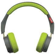 Plantronics Backbeat 505 Noise Cancelling Bluetooth Headphones, Grey/Green (20890903)