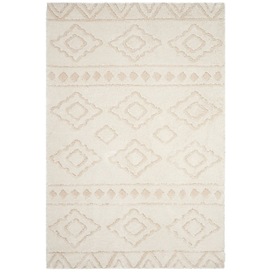 Foundry Select Albers Ivory Area Rug; 6'7'' x 9'6''