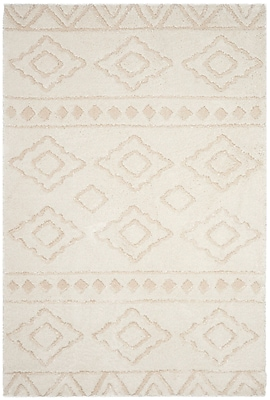 Foundry Select Albers Ivory Area Rug; 4' x 6'