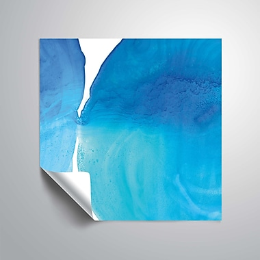 ArtWall Pools of Turquoise Wall Mural; 24'' H x 24'' W
