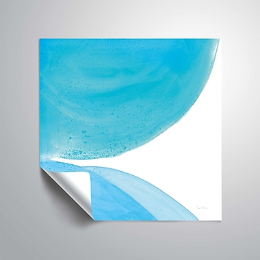ArtWall Pools of Turquoise II Wall Mural; 36'' H x 36'' W