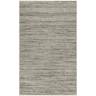 Bungalow Rose Glostrup Hand Tufted Gray Area Rug; 5' x 8'