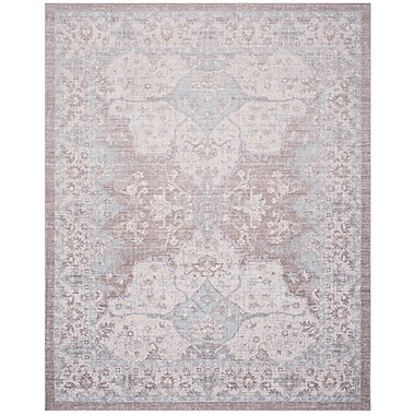 Bungalow Rose Edgehill Light Gray Area Rug; Rectangle 9' x 13'