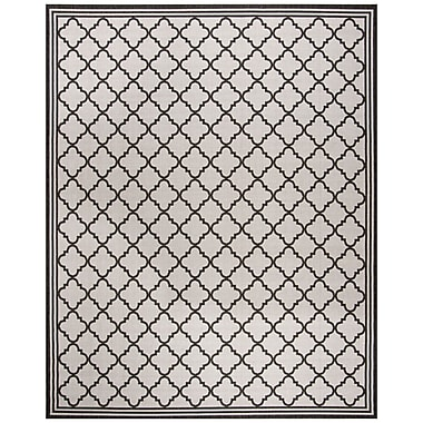 Darby Home Co Burnell Contemporary Light Gray Area Rug; 8' x 10'