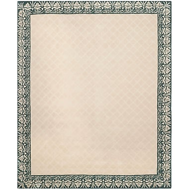 Darby Home Co Caine Hand Tufted Ivory Area Rug; 9' x 12'