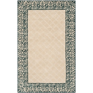 Darby Home Co Caine Hand Tufted Ivory Area Rug; 2' x 3'