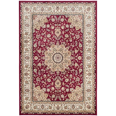 Darby Home Co Carolus Red Area Rug; 2'2'' x 3'7''