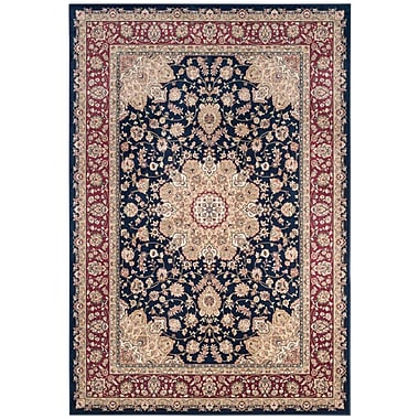 Darby Home Co Carolus Navy Area Rug; 4' x 5'3''