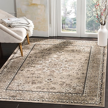 Darby Home Co Carolus Traditional Silver Area Rug; 3'3'' x 4'7''