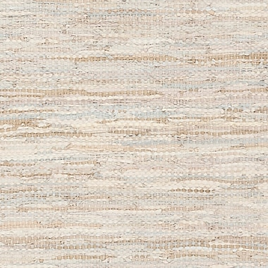 Bungalow Rose Glostrup Contemporary Hand Tufted Beige Cotton Area Rug; 2' x 3'