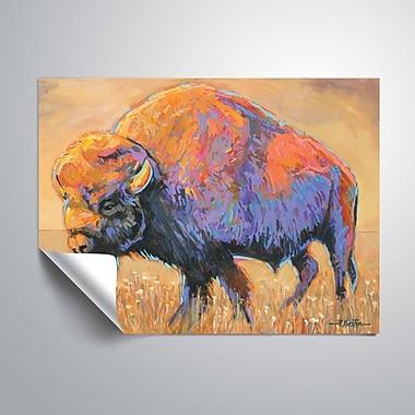 ArtWall Buffalo Wall Mural; 48'' H x 36'' W
