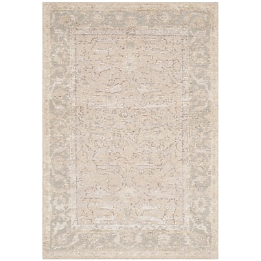 One Allium Way Brune Hand Tufted Putty Area Rug; 4' x 6'