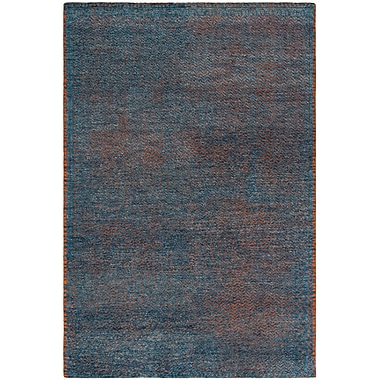 Bloomsbury Market Merriam Hand Tufted Wool Blue Area Rug; 8' x 10'