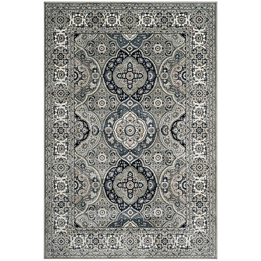 Darby Home Co Cherine Silver Area Rug ; Runner 2'2'' x 8'