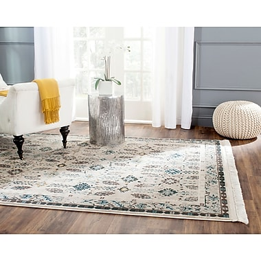 Darby Home Co Cherise Cream Area Rug ; 6' x 9'