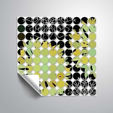 ArtWall Abstract Circles 13 Wall Mural; 14'' H x 14'' W