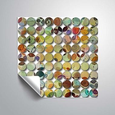 ArtWall Industrial Mixed Media Circles 808-12 Wall Mural; 14'' H x 14'' W