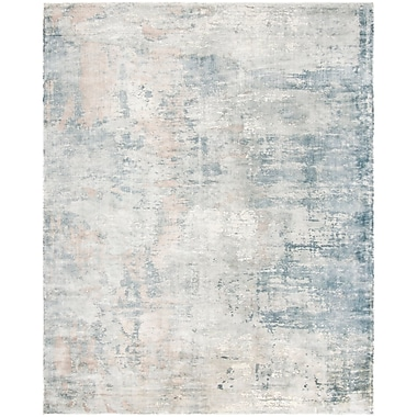 17 Stories Issouf Hand Tufted Ivory Area Rug; 8' x 10'