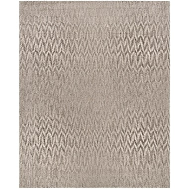 17 Stories Cherif Hand Tufted Gray Area Rug; 8' x 10'