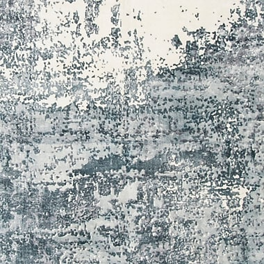 17 Stories Issouf Hand Tufted Gray Area Rug; 6' x 9'