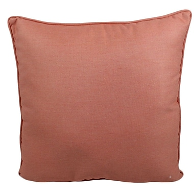 Red Barrel Studio Ravinia Outdoor Throw Pillow; Guava