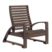 Bayou Breeze Lounge Chair; Chocolate