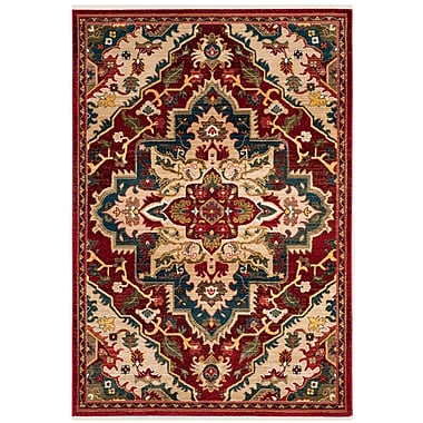 Bloomsbury Market Murphy Traditional Red Oriental Area Rug; 3'3'' x 4'10''