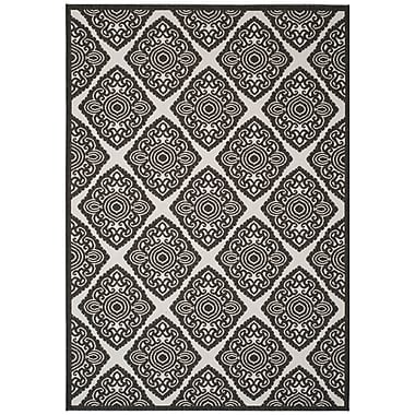 Bloomsbury Market Mckinley Light Gray Area Rug; 4' x 6'