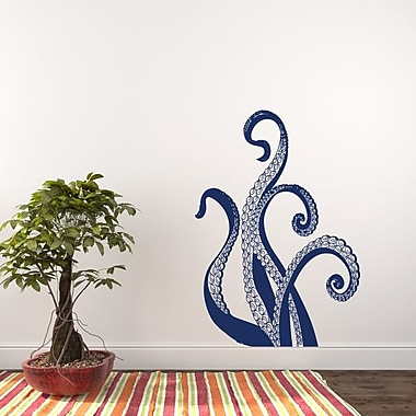 Decal House Octopus Wall Decal; Navy Blue