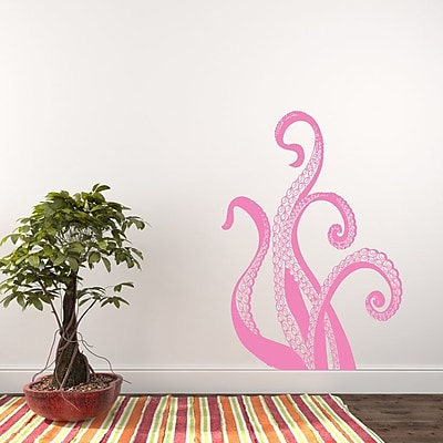 Decal House Octopus Wall Decal; Soft Pink