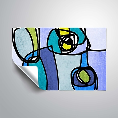ArtWall Vibrant Colorful Abstract Wall Mural; 32'' H x 48'' W