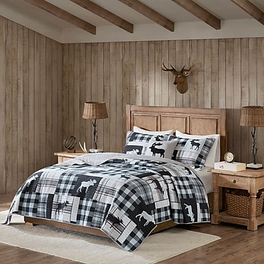 Woolrich Sweetwater Oversized 4 Piece Quilt Set; King/California King