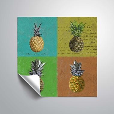 ArtWall Pineapples Wall Mural; 14'' H x 14'' W