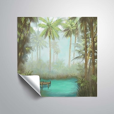 ArtWall Tropical Wall Mural; 14'' H x 14'' W