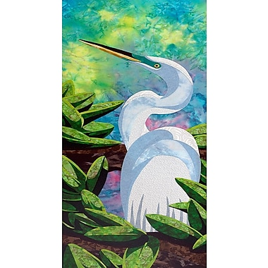 Bay Isle Home 'Great Egret' Print; Paper