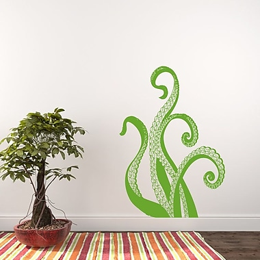 Decal House Octopus Wall Decal; Lemon Tree Green