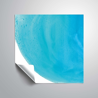 ArtWall Pools of Turquoise IV Wall Mural; 14'' H x 14'' W