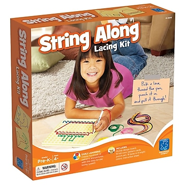 Educational Insights String Along Lacing Kit (3645)
