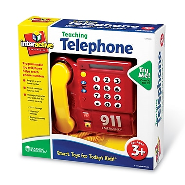Learning Resources Pretend & Play® Teaching Telephone® (LER2665)