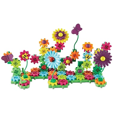 Learning Resources Gears! Gears! Gears!® Build & Bloom Building Set (LER9214-D)
