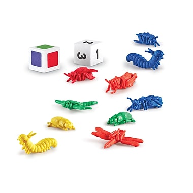 Learning Resources Take 10! Color Bug Catchers (LER9441-D)