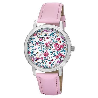 Laura Ashley Ladies Band Flower Print Dial Watch