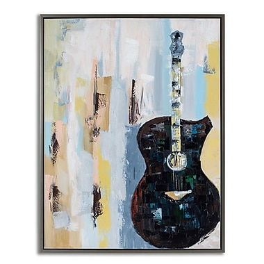 Brayden Studio 'Bluebird Cafe II' Framed Painting