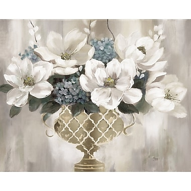 Charlton Home 'Southern Magnolia Light' Acrylic Painting Print on Gallery Wrapped Canvas