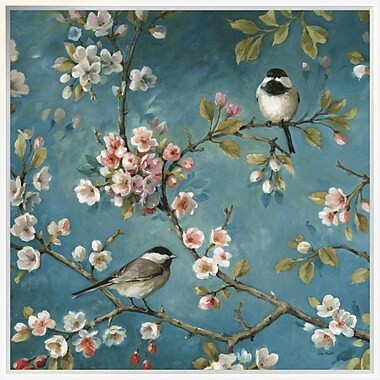 East Urban Home 'Blossom I Crop' Framed Print; 30'' H x 30'' W
