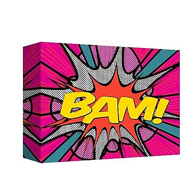 East Urban Home 'Bam 2' Textual Art on Canvas in Pink