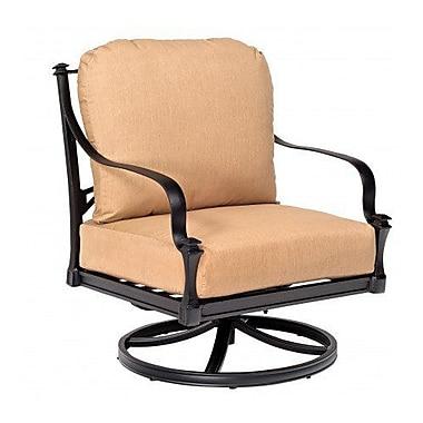 Woodard Isla Rocking Patio Chair w/ Cushions; Canvas Dusk