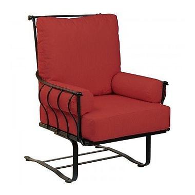 Woodard Maddox Spring Patio Chair w/ Cushions; Paris Blush