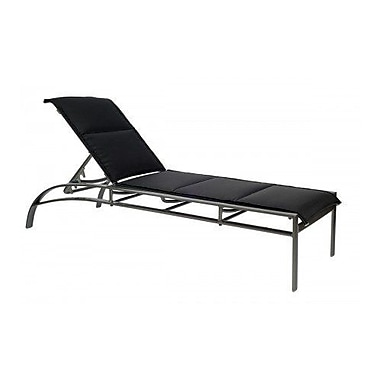 Woodard Metropolis Adjustable Stacking Chaise Lounge; Augustine Pear